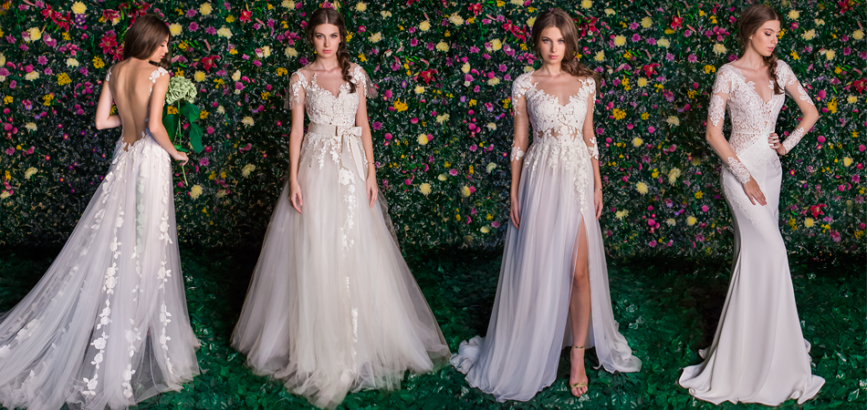 Shop the new WEDDING DRESSES
