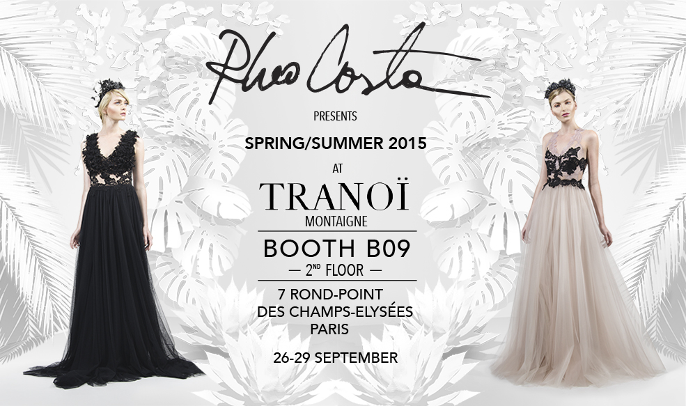 SS2015 Collection at Tranoi Paris 26-29 sept