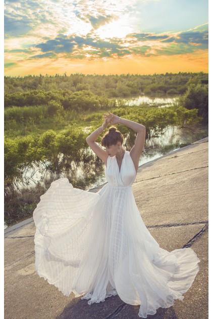 ENCHANTED WHITE BOHO DRESS