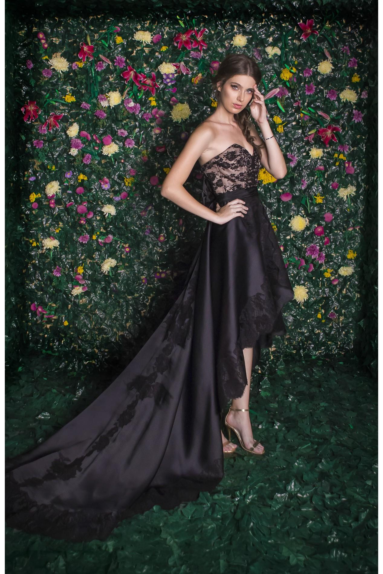 Asymmetrical Organza Dresses