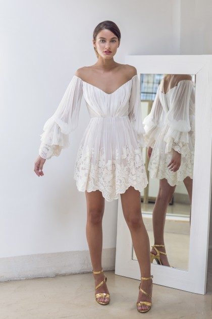 Boho Short Dress Rhea Costa Shop