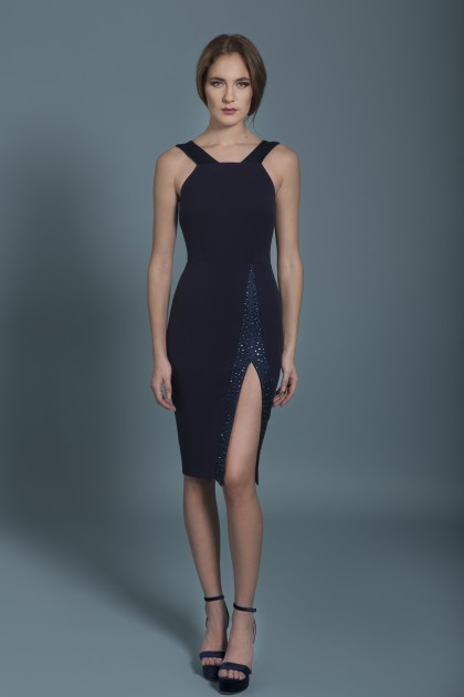 SWAROVSKI DESIGNED BODYCON DRESS