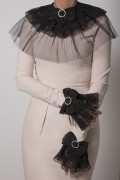 LACE & TULLE COLLAR