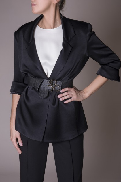 SILK TOUCH TAILORED JACKET