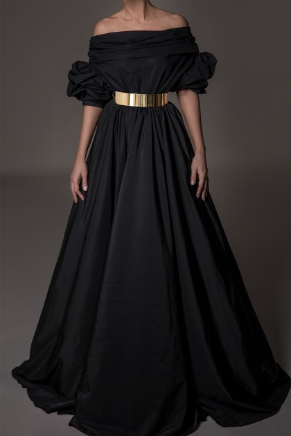 VOLUME LONG SKIRT
