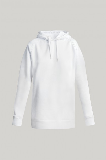 HOODED ORGANIC COTTON SWEATSHIRT
