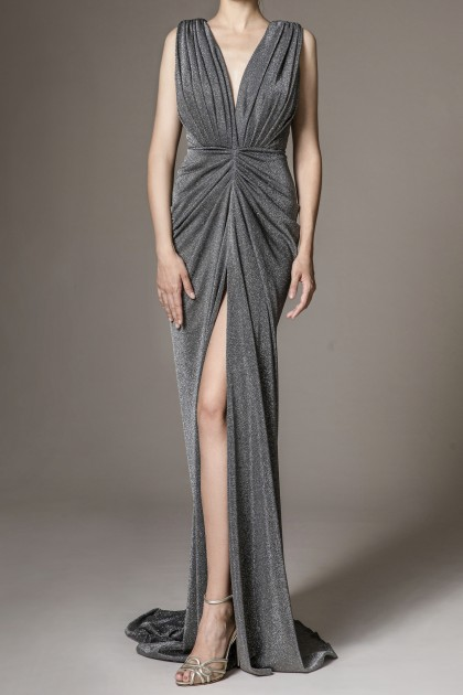 SLEEVELESS GODDESS GOWN