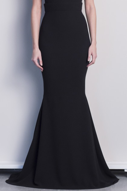 SOPHISTICATED CREPE LONG SKIRT