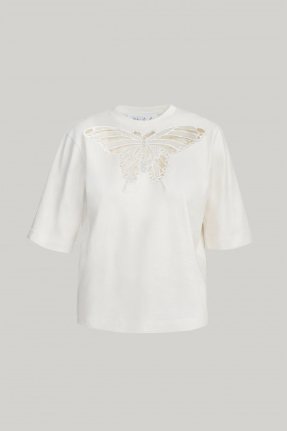 DELIGHTFUL BUTTERFLY T-SHIRT
