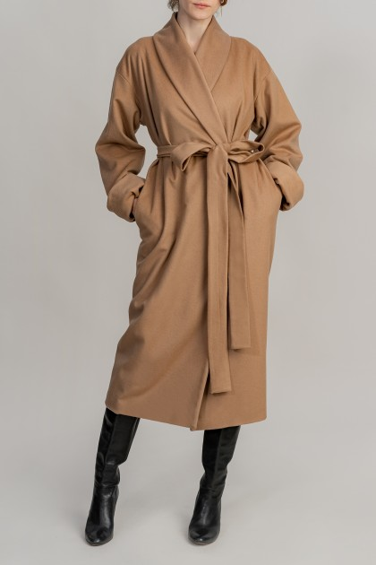 IMPOSING CASHMERE BLEND LONG COAT