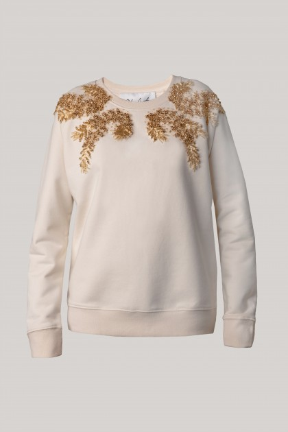 RICH EMBROIDERED SWEATSHIRT