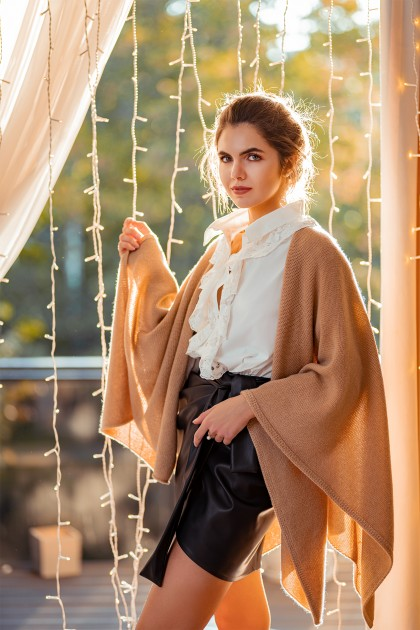 CASHMERE ANGEL CAPE