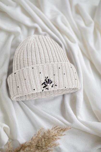 SWAROVSKI EMBELLISHED HAT