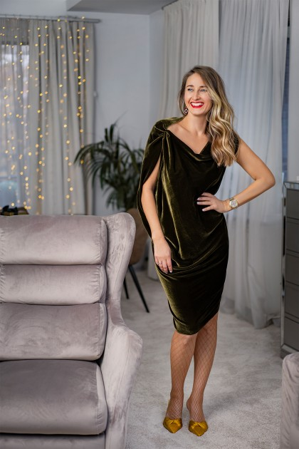CATALINA VELVET DRESS