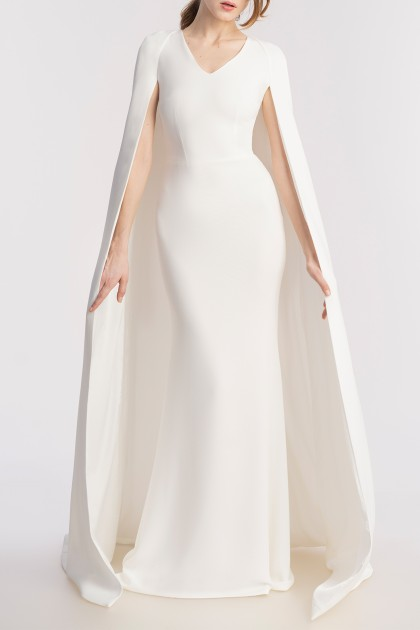DEITY LONG CAPE GOWN