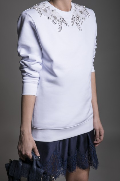 RICH EMBROIDERY SWEATSHIRT