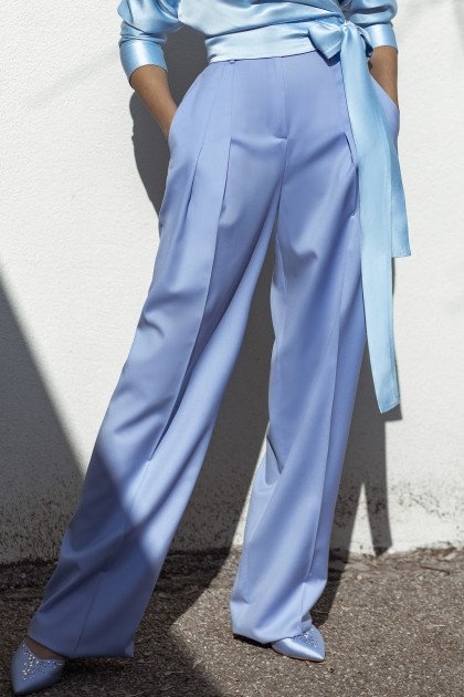 SKY BLUE COSMOPOLITAN WIDE PANTS